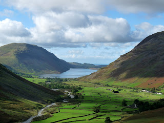 Wastwater from Gavel Neese