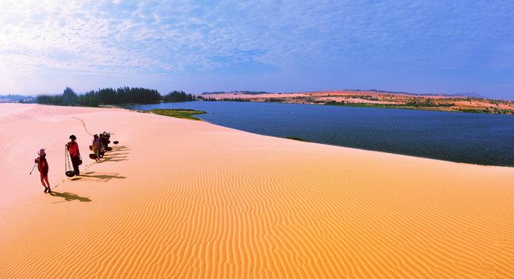 Ảnh bãi cát lượn sóng