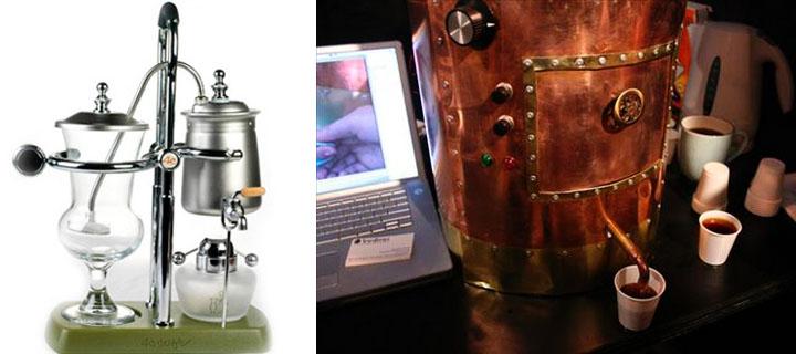 Starbucks Siphon Coffee Maker : Dark Roasted Blend: Coffee Art & Style Extravaganza