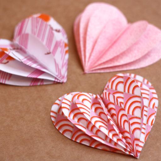 Как своими руками сделать сердце из бумаги