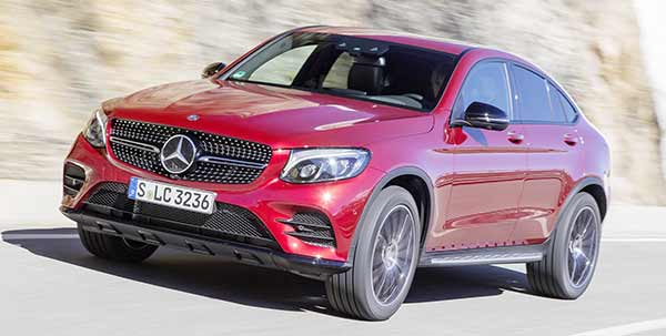 The new Mercedes-Benz GLC Coupe review a 147mph top speed ?