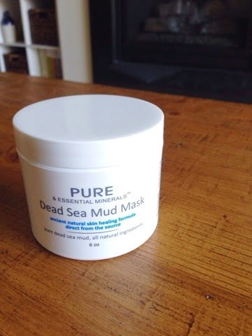 dead sea mud mask, pure and essential minerals