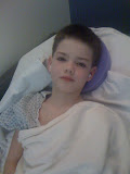....and after surgery for ear tubes.