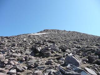 A rocky descent!!