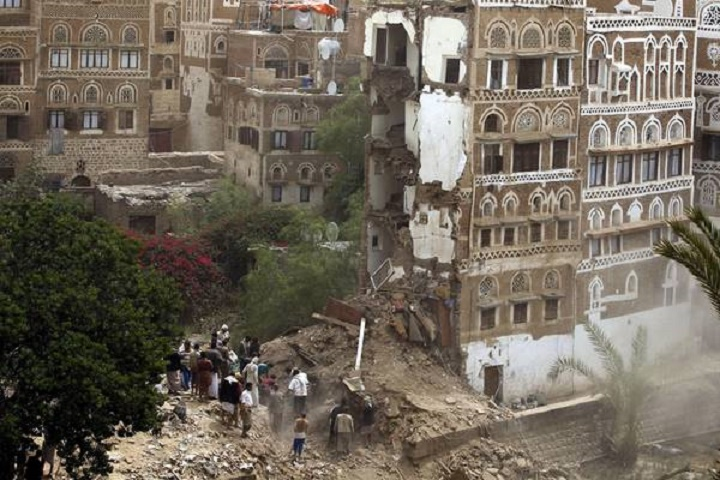 Saudi airstrike hits Yemen World Heritage site