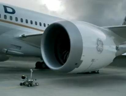 Fly into the Future GE Jet Engine TV Commercial