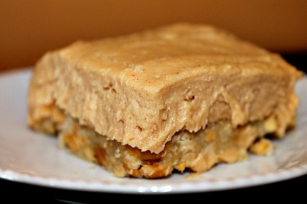 Peanut Cream Cheese Square {Gluten-Free}
