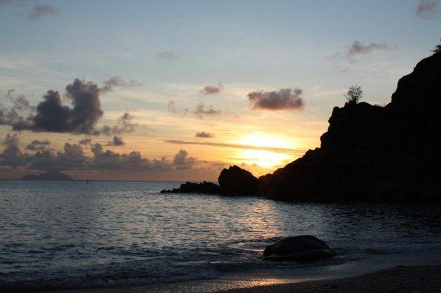 Playa Shell en San Bartolome St Barts