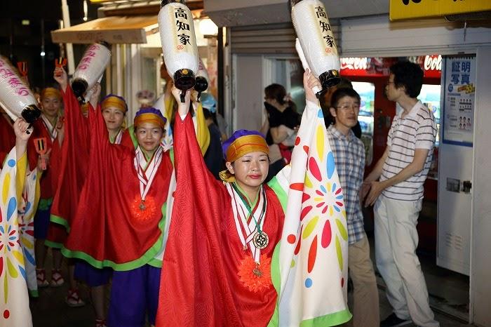 第60回よさこい祭り☆本祭2日目・上町競演場8☆上2目2673