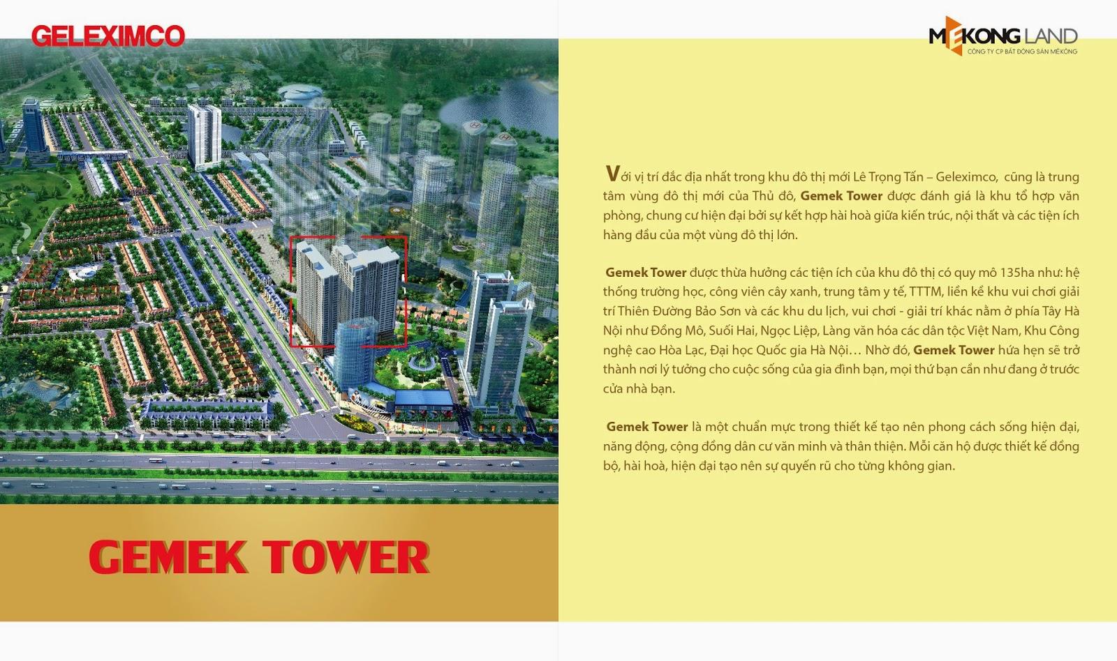 Giới thiệu chung cư Gemek Tower
