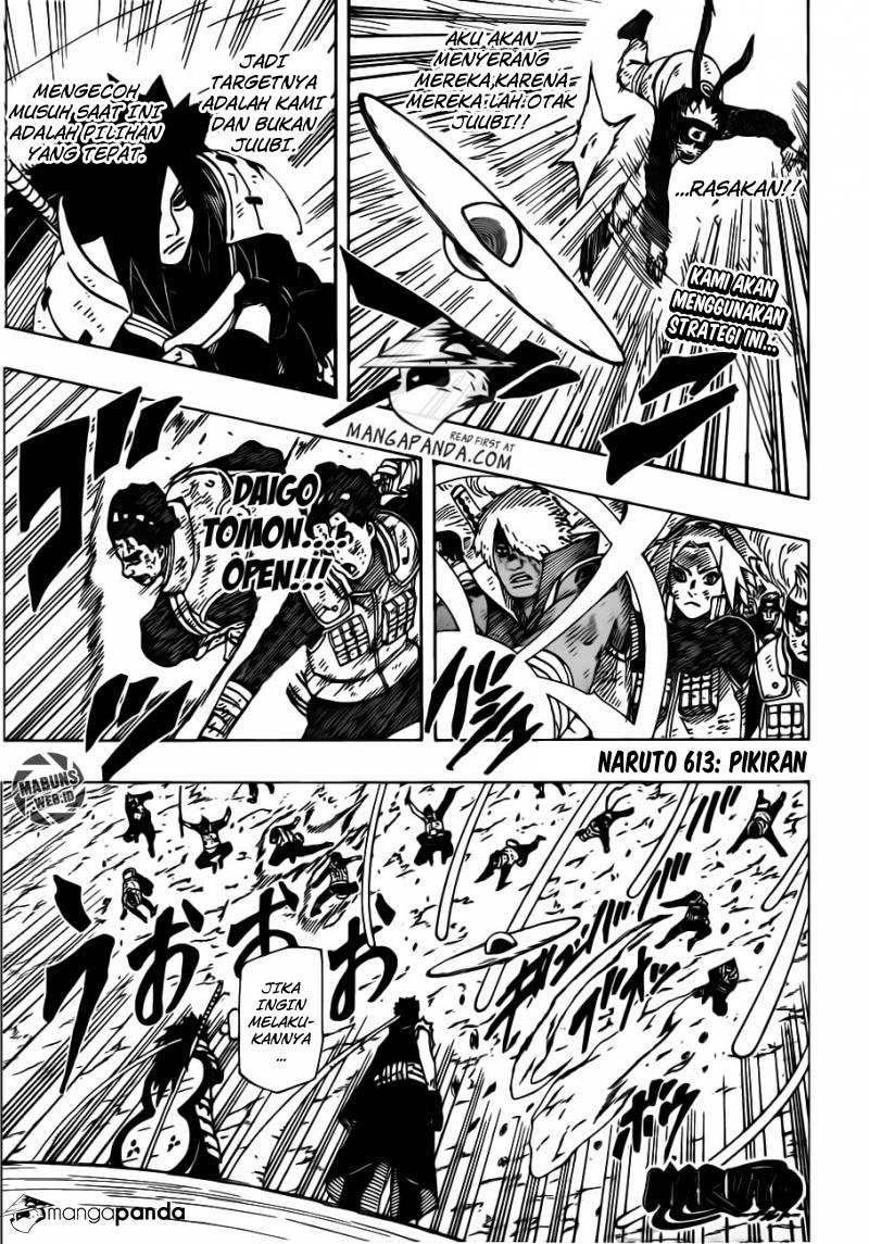 03 Naruto 613   Pikiran