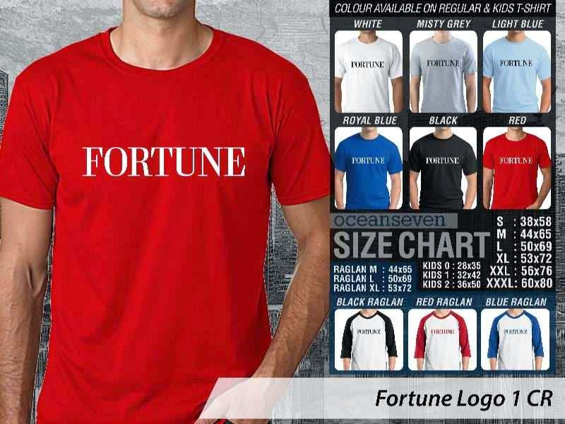 Kaos Magz Fortune Logo 1 Majalah & Media distro ocean seven