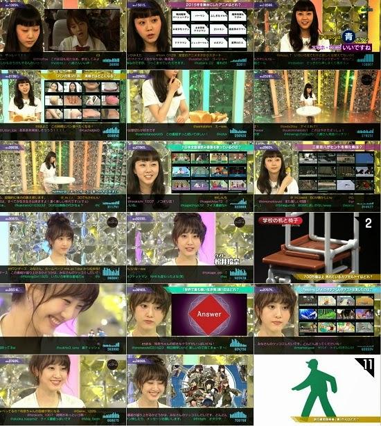 (TV-Variety)(720p) 松井玲奈 – つっこむクイズ ワンダース 150321