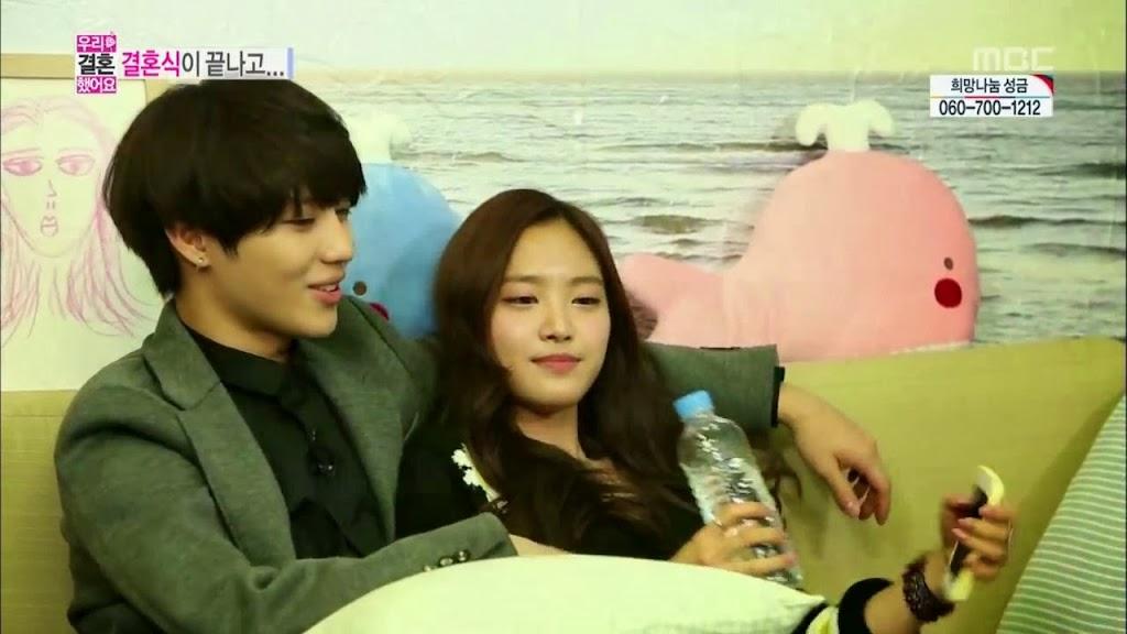 did taemin and naeun dating in real life