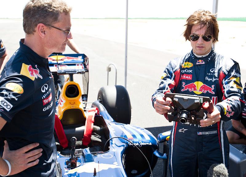 Том Круз и Дэвид Култхард на Willow Springs Raceway 15 августа 2011