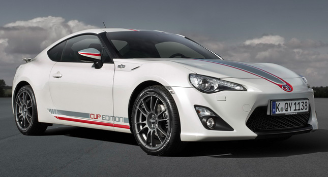 New Toyota Gt86 Cup Edition Gets Racing Stripes Alcantara
