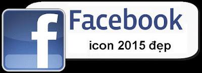 Tổng hợp icon facebook mới và đẹp nhất 2015