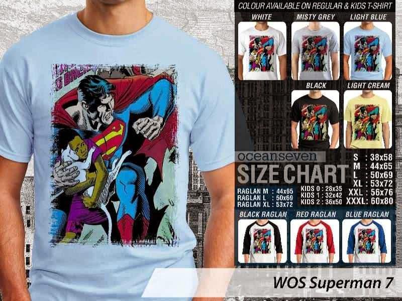 KAOS superman 7 Movie Series distro ocean seven