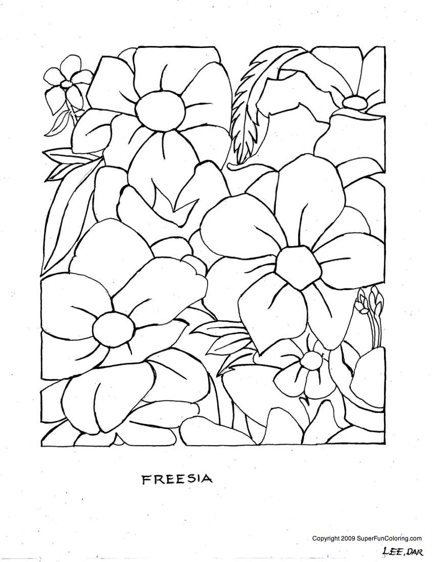 Hard Printable Coloring Pages For Adults AZ Coloring Pages - free flower coloring pages for adults