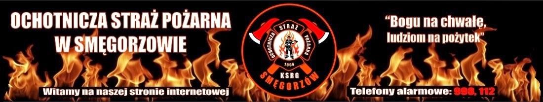 Oficjalna strona internetowa Ochotniczej Straży Pożarnej w Smęgorzowie