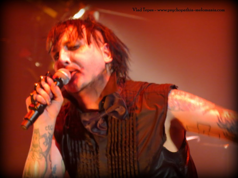 Marilyn Manson @ Le Zénith, Paris 05/06/2012
