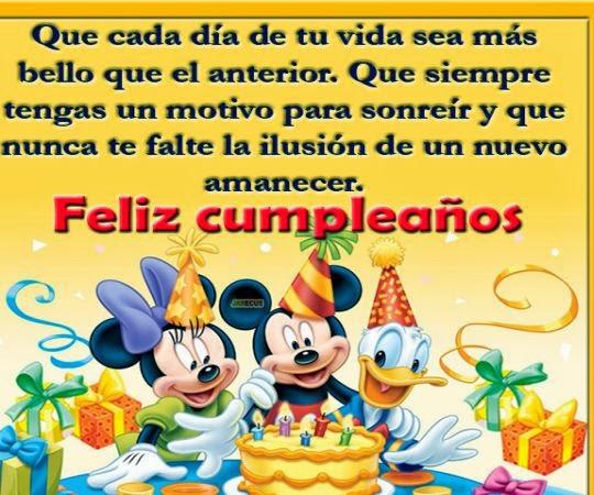 Felicitaciones de cumpleaños para niños ~ Frases de cumpleaños