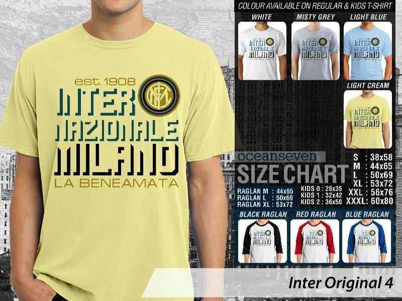 KAOS Inter Milan 23 Logo Klub Bola distro ocean seven