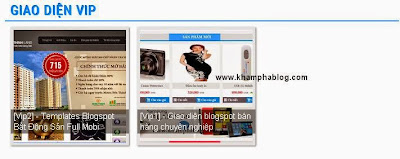 Recent post thumbnail đẹp cho blogspot