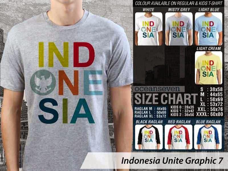 KAOS Indonesia Unite Graphic 7   KAOS Desain Indonesia garuda distro ocean seven