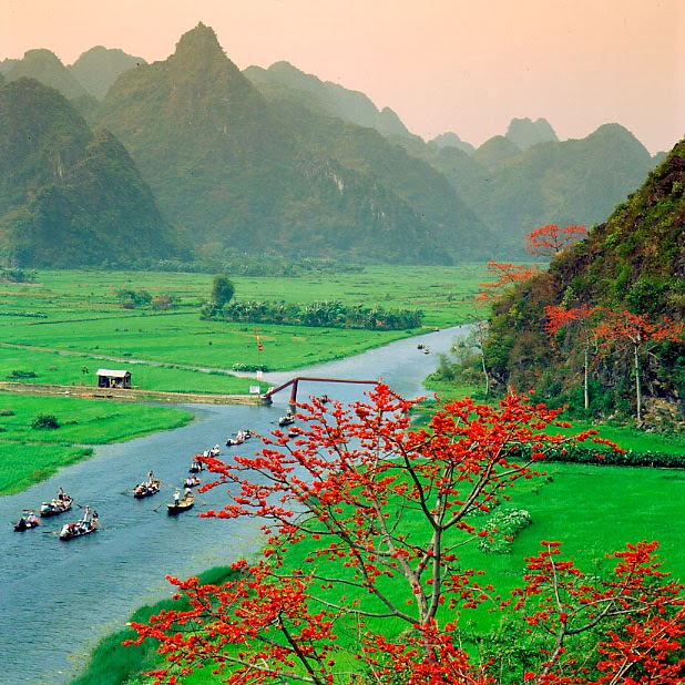 Cho thuê xe đi lễ Chùa Hương - Trẩy hội chùa Hương