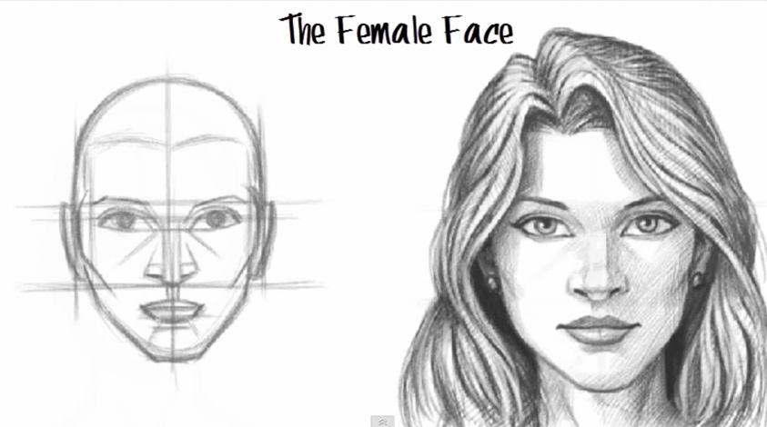 Как научиться рисовать портреты с