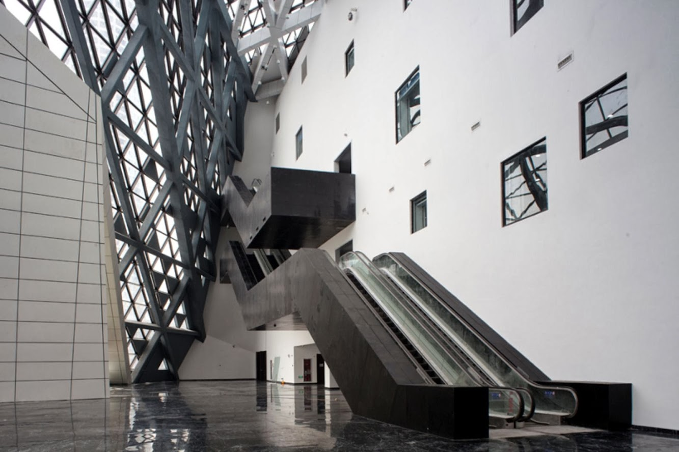 Jinan Cultural Centre by As architecture
