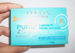 Sabonete Antiacne Pure Zone L'Oréal Paris