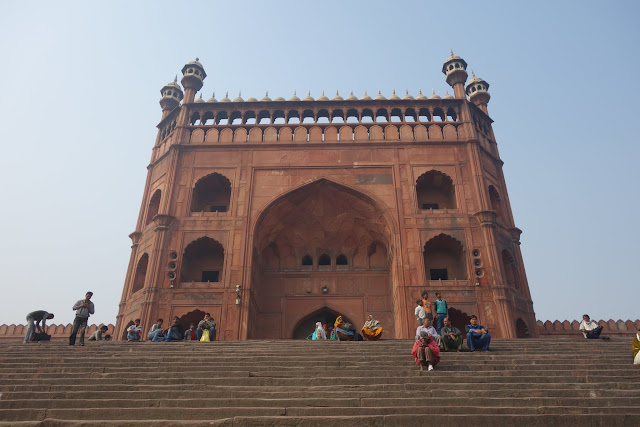Jama Masjid - the largest mosque in India.