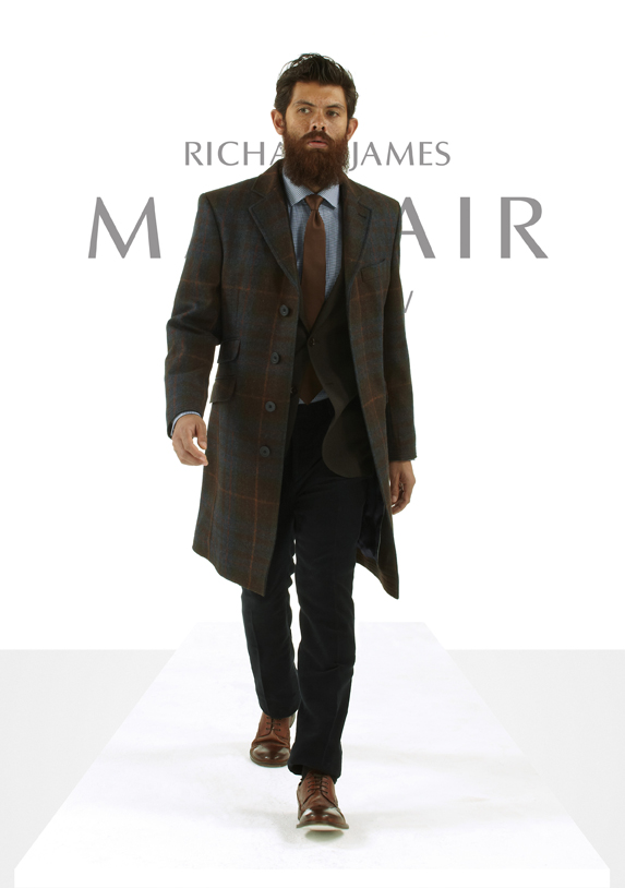 Richard James Autumn/Winter 2016 Mayfair Collection [men's fashion]