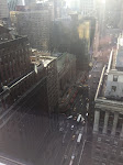 Grand Central from our 21st floor perch