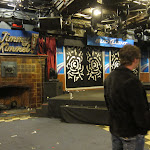 Its a cool place...not like other talk shows we've been to...its set up to actually host a party