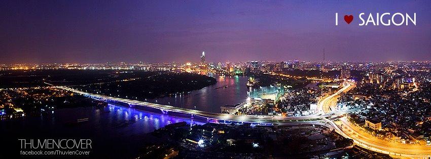 Ảnh bìa Sài Gòn về đêm