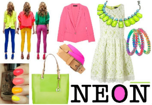 How to wear neon jewelries