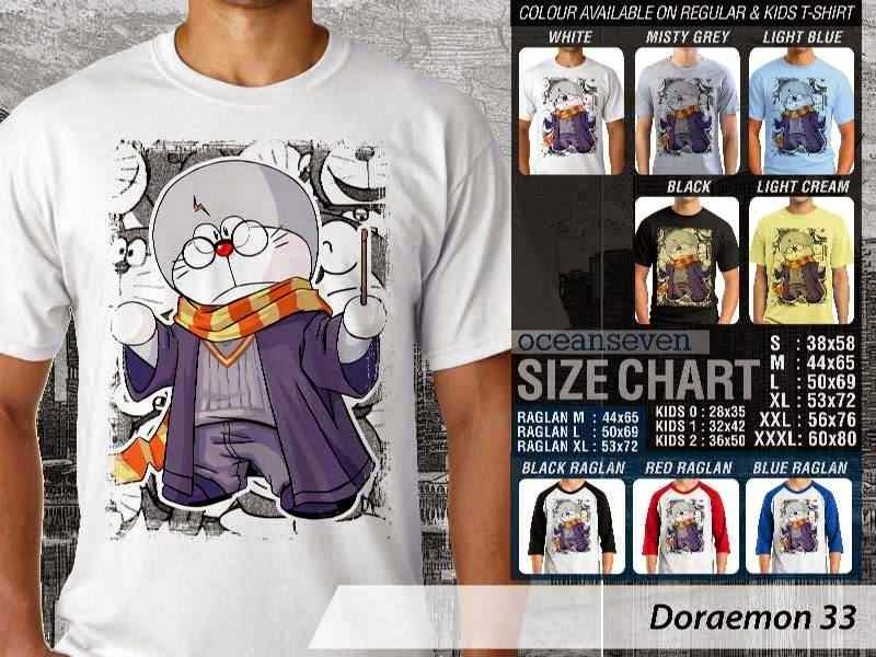 KAOS Doraemon 33 Manga Lucu distro ocean seven