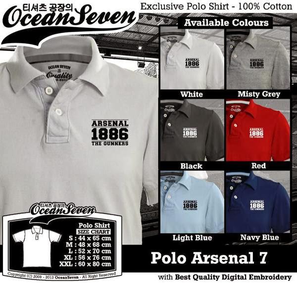 POLO Arsenal 7 Premier League distro ocean seven