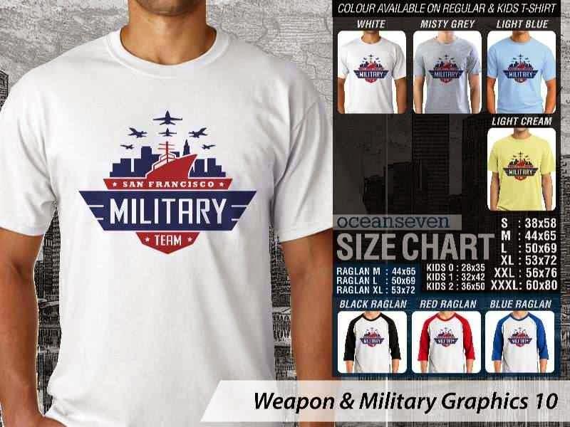 KAOS Militer Weapon & Military Graphics 10 distro ocean seven