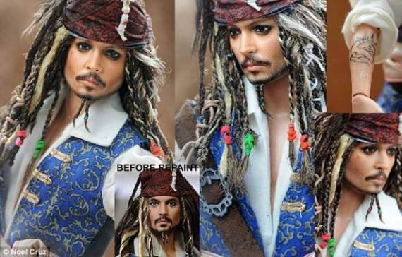пираты карибского моря – кукла джека воробья (джонни депп) – ноэль круз