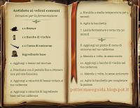 Antidoto ai veleni comuni - Istruzioni