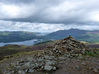 Large Cairn on Bleaberry Fell