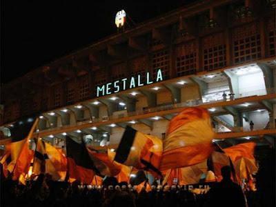 Mestalla, Valencia, Real Madrid, España, Валенсия, Реал Мадрид, Стадион Месталья, футбол, 5:0, Рональдо, фанаты