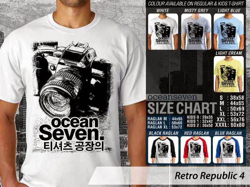 KAOS Retro Republic 4 camera distro ocean seven