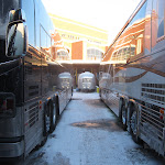 the busses are pretty cold too
