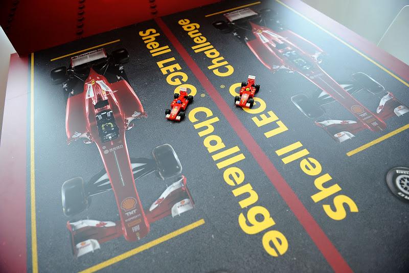Ferrari Shell LEGO Challenge на Гран-при Венгрии 2013