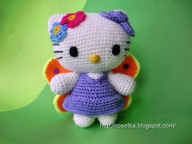 амигуруми Hello Kitty.